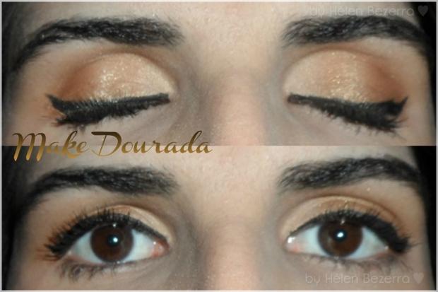 Detalhe dos olhos