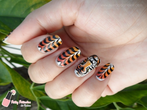 NAILART TIGRE 1