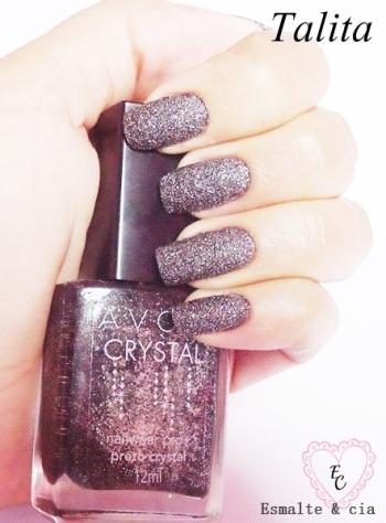 Talita - Preto Crystal - Avon