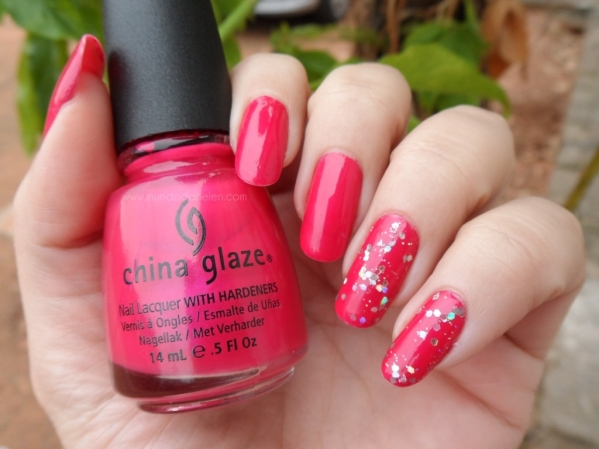 CHINA GLAZE - FUCHSIA 1