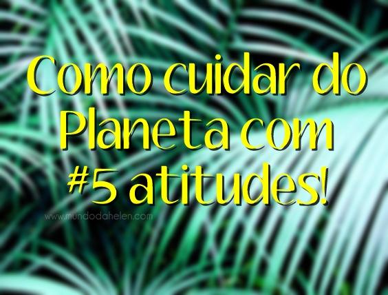 5 atitudes
