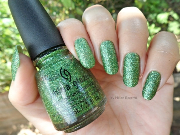CHINA GLAZE -THIS IS TREE MENDOUS 2